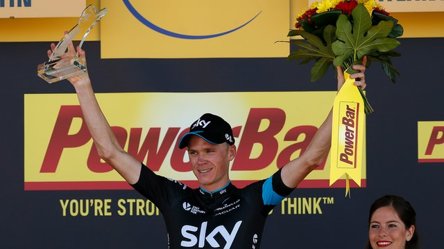 Tour de France: Thomas says Sky smashed it for Froome